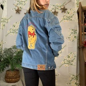 VTG 80s official Winnie the Pooh denim jacket